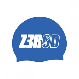 SWIM CAP BLUE LARGE LOGO
